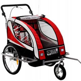 Прочие аксессуары и запчасти - Прицеп велосипедный с амортизатором, детский, 0