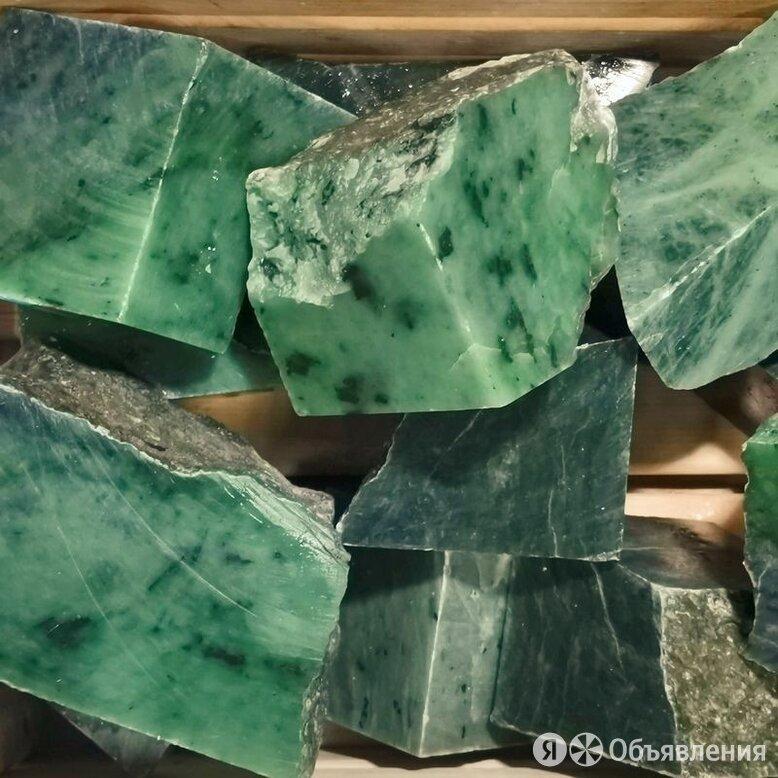 Камень для банной печи Нефрит по цене 240₽ - Камни для печей, фото 0