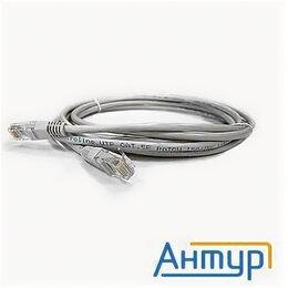 VoIP-оборудование - Патчкорд литой Aopen/qust Anp511_10m Utp кат.5е 10м серый, 0
