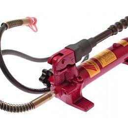 Спецтехника и навесное оборудование - Гидравлический насос ручной JTC-HA350, для пресса, 0,35 л, 0