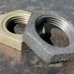Водопроводные трубы и фитинги - Контргайка чугунная, 0