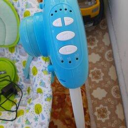 Качели - Pituso электрокачели бирюза мишки (адаптер, пульт) 75х67х98,5см ty-028p, 0
