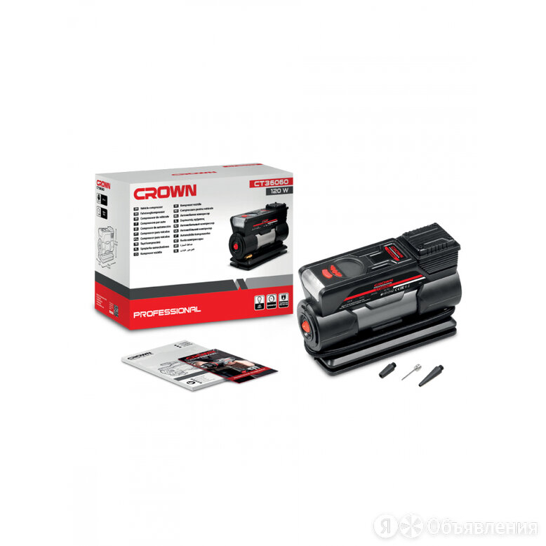 Автомобильный компрессор Crown CT36060 по цене 3779₽ - Другое, фото 0