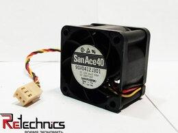 Кулеры и системы охлаждения - Вентилятор Sanyo 9GV0412J301 40x40x28 DC 12V 0.6A , 0
