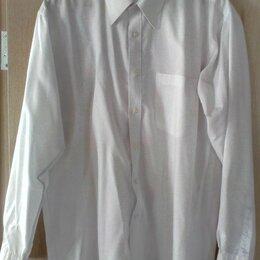 Рубашки -  Мужская рубашка (белая) LOUITI, размер 48-50 (L), 0