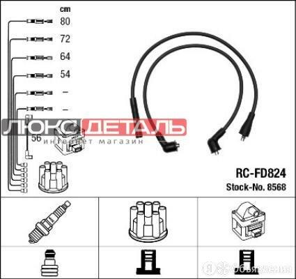 NGK-NTK RCFD824 RC-FD 824_к-кт проводов\ Ford Transit 1.6/2.0 85-94  по цене 1308₽ - Кузовные запчасти , фото 0