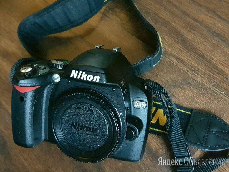 Зеркальный фотоаппарат Nikon D40 по цене 3800₽ - Фотоаппараты, фото 0