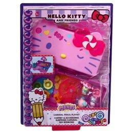 Канцелярские принадлежности - Набор-пенал Hello Kitty 'Мини-мир. Фруктовый плаж', 0