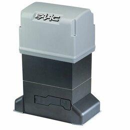 Шлагбаумы и автоматика для ворот - Комплект привода откатных ворот FAAC 844 KIT, 0