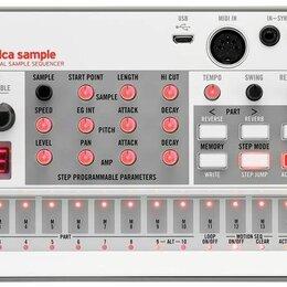 Оборудование для звукозаписывающих студий - Korg Volca Sample 2 грувбокс-семплер, 0