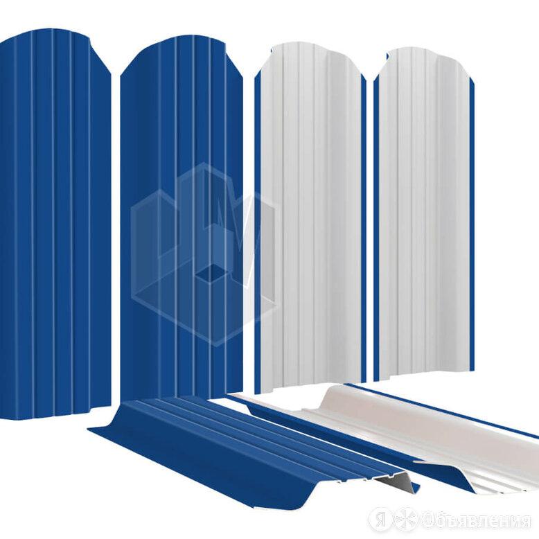 Штакетник для забора Широкий 115мм RAL5005 Синий Сигнал высота 1.5 метра по цене 223₽ - Заборы, ворота и элементы, фото 0