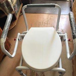 Устройства, приборы и аксессуары для здоровья - Кресло туалет для инвалидов, 0