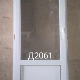 Межкомнатные двери - Дверь пластиковая балконная (б/у) 2200(в)х700(ш), 0