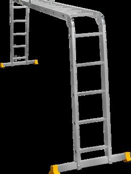 Кровля и водосток - Лестница -Трансформер  2,91 м 4х5 Т455 Alumet, 0