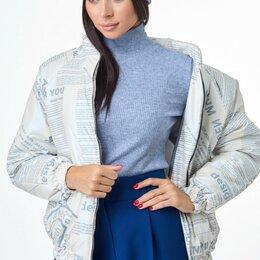 Одежда и обувь - Куртка М-7091 T&N молочно-голубая Модель: М-7091, 0