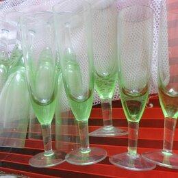 Бокалы и стаканы - Фужеры зеленого стекла, СССР, 0