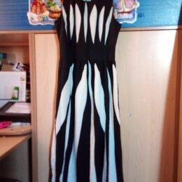 Платья - Летнее длинное платье, 0