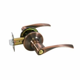 Защелки и завертки - Защелка ручка медь ключ фикс 8901 ЕТ АС Стандарт, 0