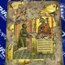 Иконы - Икона Нечаянная Радость Пресвятой Богородицы 30х25 мм, 0