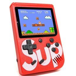 Игровые приставки - Карманная игровая приставка 8 бит 400 игр Sup, 0