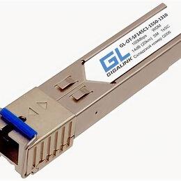 Принадлежности и запчасти для станков - Модуль промышленный GIGALINK SFP, WDM, 100/155 Мбит/c, одно волокно SM, SC, Tx:1, 0