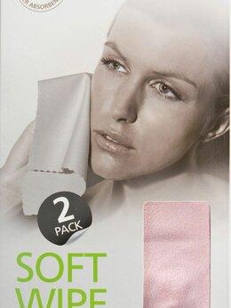 Аксессуары - Салфетка для лица (замша) SMART, 2шт., розовая, 0