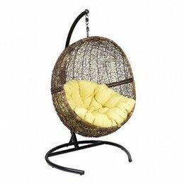 Плетеная мебель - Мебель ротанговая Кресло подвесное Lunar Coffe, 0