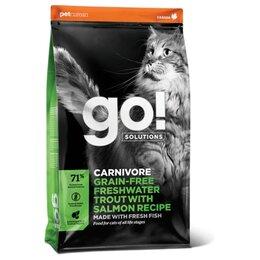Корма  - Go! Cat Carnivore Freshwater Trout Salmon Recipe…, 0