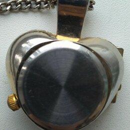 Кулоны и подвески - Часы Кулон..кварцевые, 0