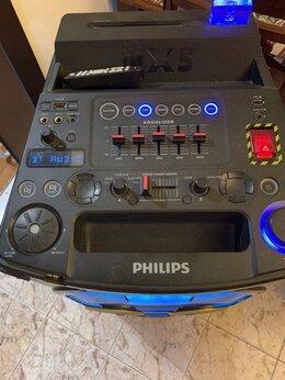 Комплекты акустики - Колонка 650 Вт Partybox с караоке и dj, 0