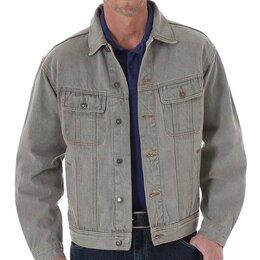 Куртки - джинсовая куртка Wrangler rugged L, 0