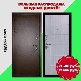 Входные двери - Дверь входная металлическая Сударь C 509, 0