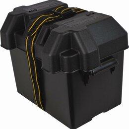 Аккумуляторы и зарядные устройства - Коробка для аккумулятора вентилируемая средняя attwood (Этвуд), 0