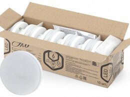 Лампочки - ECO LED GX-6W-827-GX53 (10-PACK) Лампа…, 0