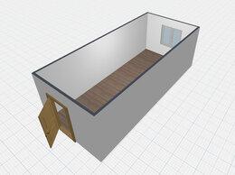 Готовые строения - Строительная бытовка , 0