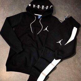 Спортивные костюмы - Костюм чёрный спортивный , 0