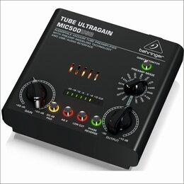 Усилители и ресиверы - BEHRINGER MIC500USB - микрофонный/инструментальный предусилитель, 0