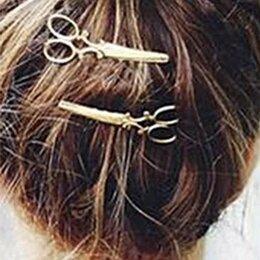 Аксессуары для волос - Заколка для волос Ножницы, 0