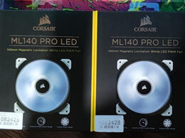 Вентиляторы - Вентилятор Corsair ML140 Pro LED White, 0