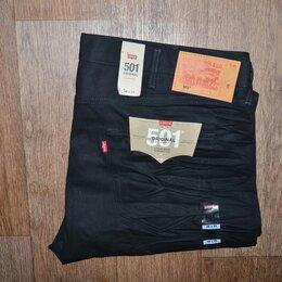 Джинсы - Джинсы Levis 501 W46 L29, черные (62 размер), 0