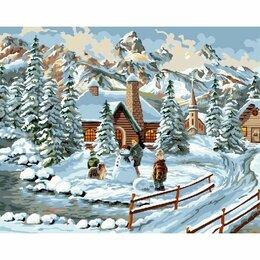 Рукоделие, поделки и товары для них - Картина по номерам Зимние игры (GX 30921, 40x50…, 0