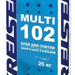 Строительные смеси и сыпучие материалы - Клей для плитки влагостойкий 102 MULTI Kreisel 25кг, 0