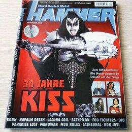 Журналы и газеты - Журнал Metal Hammer - November 2002 + CD, 0