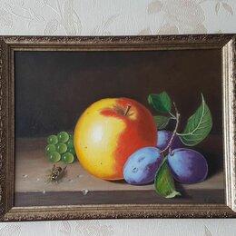 Картины, постеры, гобелены, панно - Картина маслом натюрморт 45х35см, 0