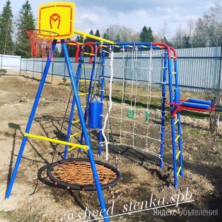 Спортивный уличный  детский комплекс для дачи  по цене 32500₽ - Игровые и спортивные комплексы и горки, фото 0