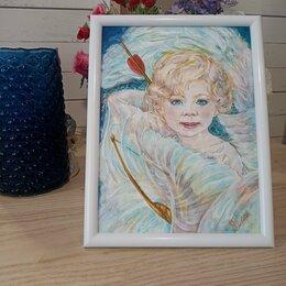 Картины, постеры, гобелены, панно - Нинина картина. Портрет по фото. , 0