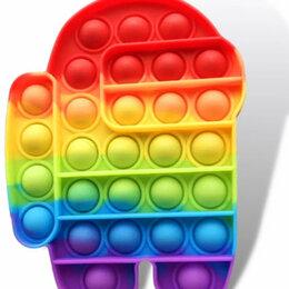 Игрушки-антистресс - Антистресс Поп Ит пузырь POP IT AMONG US, 0