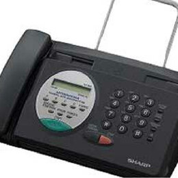 Факсы - телефон-факс (факсимильный аппарат) Sharp FO-85, 0