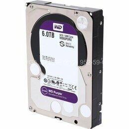 "Внешние жесткие диски и SSD - Жесткий диск 6Tb SATA3 3.5"" Western Digital Caviar Purple [WD60PURX], 0"
