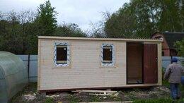 Готовые строения - Бытовка 6х2,20 с ПВХ окнами, 0